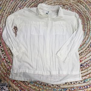 🌼5 for $25🌼 Old Navy collar white button up